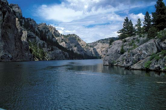 Missouri River (as I remember it growing up) in western Montana